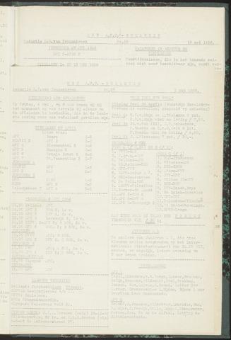 Bulletins (vnl. opstellingen) 1956-05-01