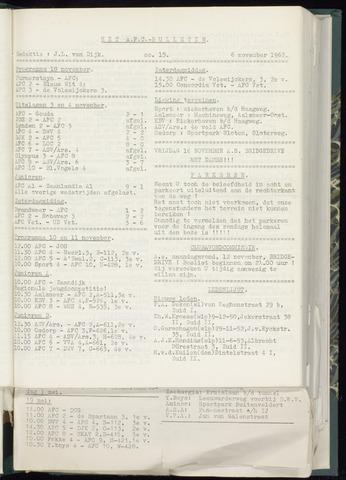 Bulletins (vnl. opstellingen) 1962-10-31