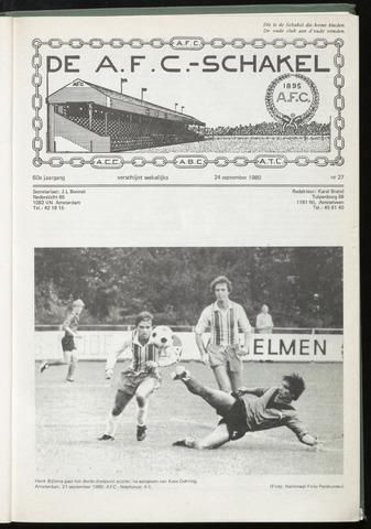 Schakels (clubbladen) 1980-09-24