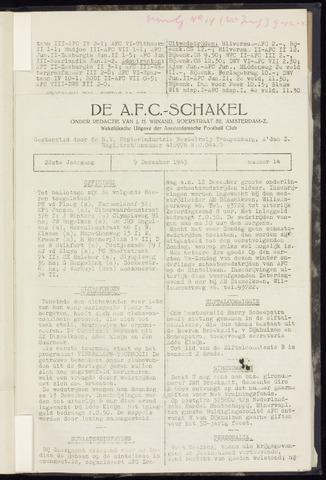 Schakels (clubbladen) 1943-12-09
