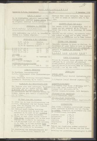 Bulletins (vnl. opstellingen) 1952-12-02
