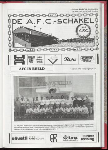 Schakels (clubbladen) 1990-02-07