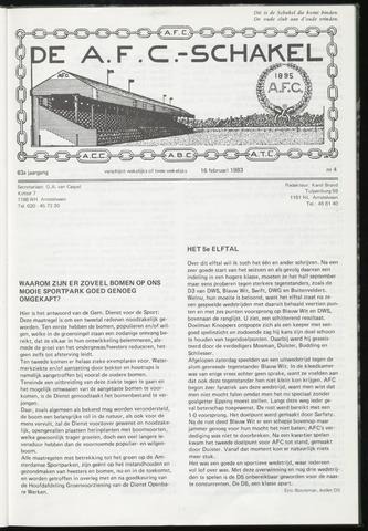 Schakels (clubbladen) 1983-02-16