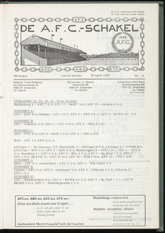 Schakels (clubbladen) 1978-04-26