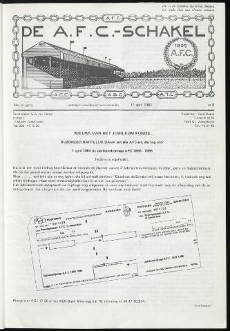 Schakels (clubbladen) 1984-04-11