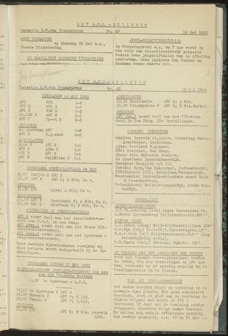 Bulletins (vnl. opstellingen) 1953-05-12