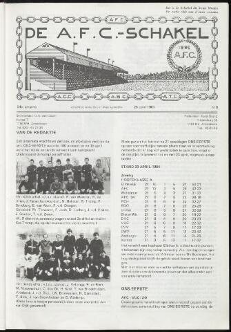 Schakels (clubbladen) 1984-04-25