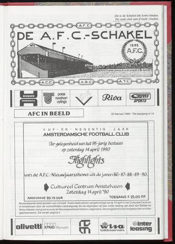 Schakels (clubbladen) 1990-02-22