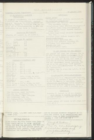 Bulletins (vnl. opstellingen) 1957-01-29
