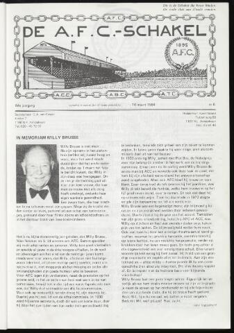 Schakels (clubbladen) 1984-03-14