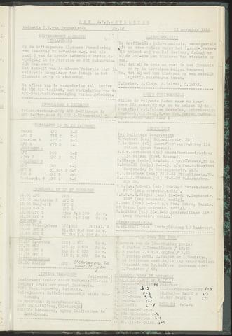 Bulletins (vnl. opstellingen) 1955-11-22