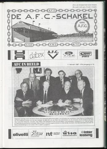 Schakels (clubbladen) 1987-02-11