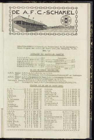Schakels (clubbladen) 1940-03-28