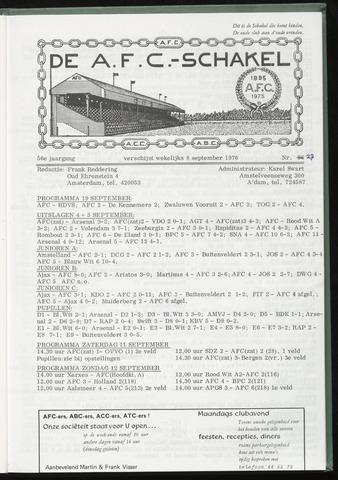 Schakels (clubbladen) 1976-09-08