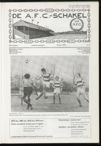 Schakels (clubbladen) 1979-04-18