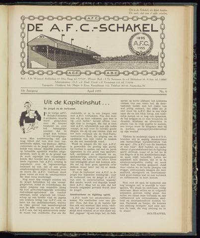 Schakels (clubbladen) 1955-04-01