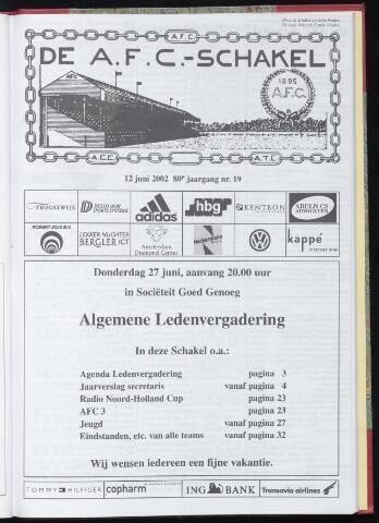 Schakels (clubbladen) 2002-06-12