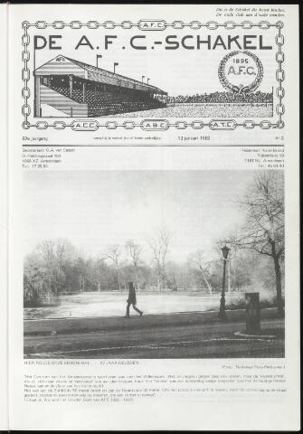 Schakels (clubbladen) 1982-01-20