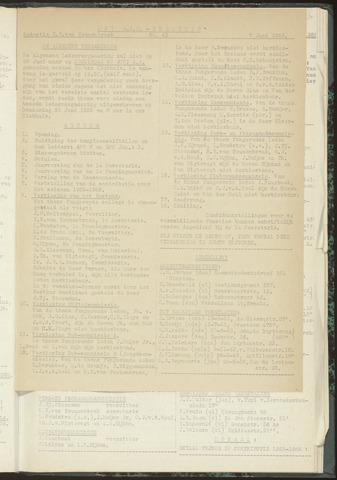 Bulletins (vnl. opstellingen) 1955-06-07