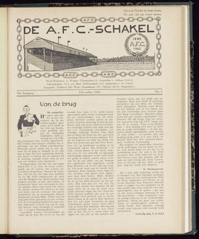 Schakels (clubbladen) 1960-12-01