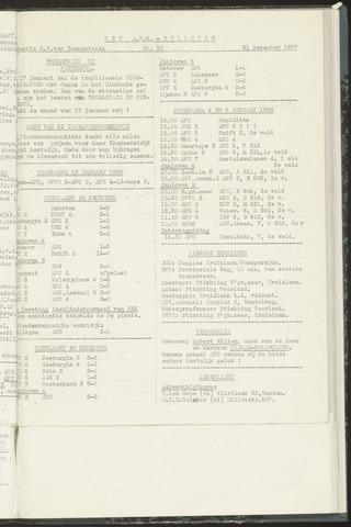 Bulletins (vnl. opstellingen) 1957-12-31