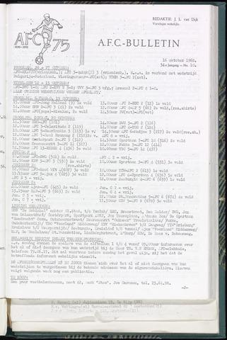 Bulletins (vnl. opstellingen) 1968-10-16