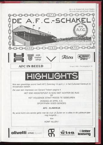 Schakels (clubbladen) 1990-04-18