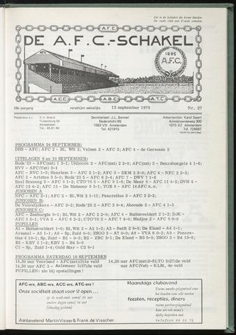 Schakels (clubbladen) 1978-09-13