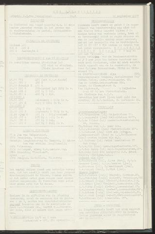 Bulletins (vnl. opstellingen) 1957-09-10