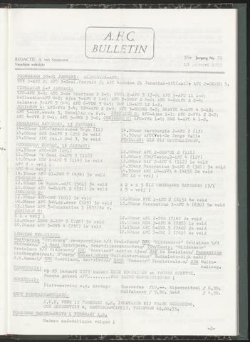 Bulletins (vnl. opstellingen) 1973-01-10