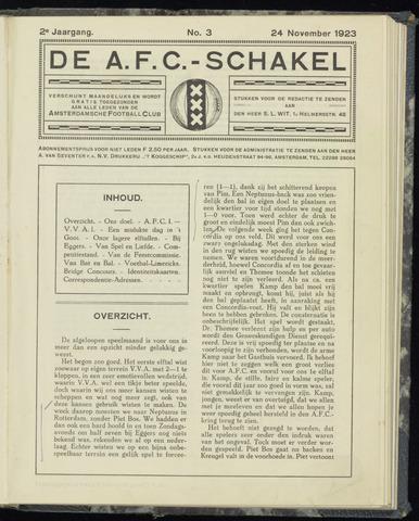 Schakels (clubbladen) 1923-11-24