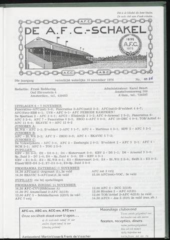 Schakels (clubbladen) 1976-11-10