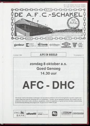 Schakels (clubbladen) 1995-10-04
