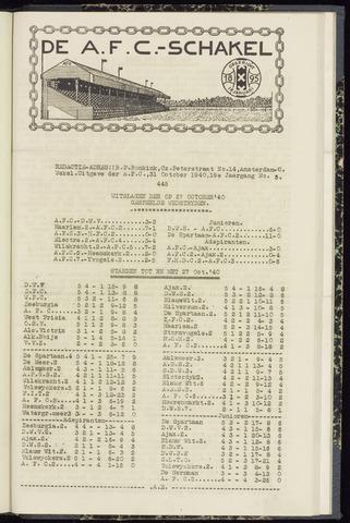 Schakels (clubbladen) 1940-10-31