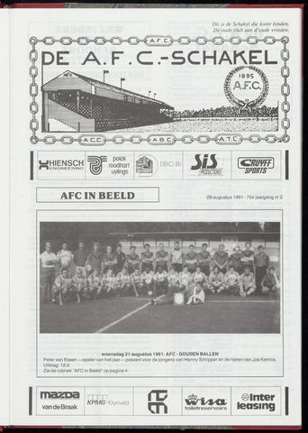 Schakels (clubbladen) 1991-08-28