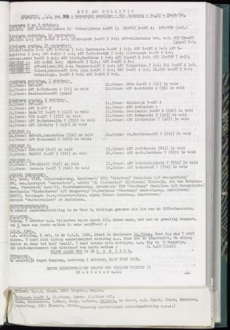 Bulletins (vnl. opstellingen) 1966-09-28