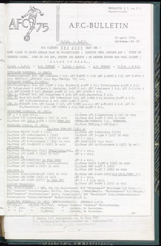 Bulletins (vnl. opstellingen) 1969-04-23