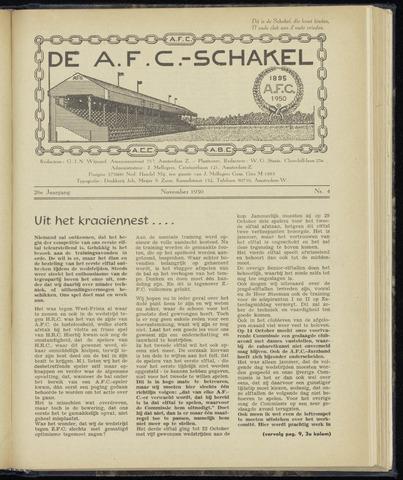 Schakels (clubbladen) 1950-11-01