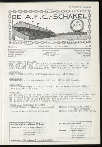 Schakels (clubbladen) 1978-03-15