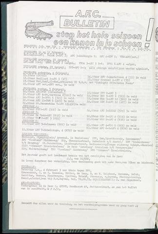Bulletins (vnl. opstellingen) 1967-02-01