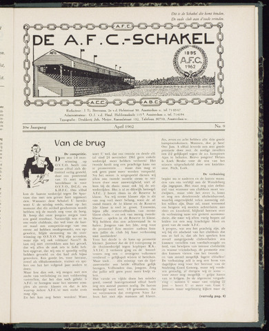 Schakels (clubbladen) 1962-04-01