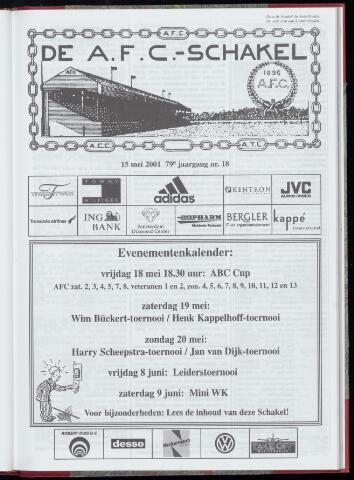 Schakels (clubbladen) 2001-05-15