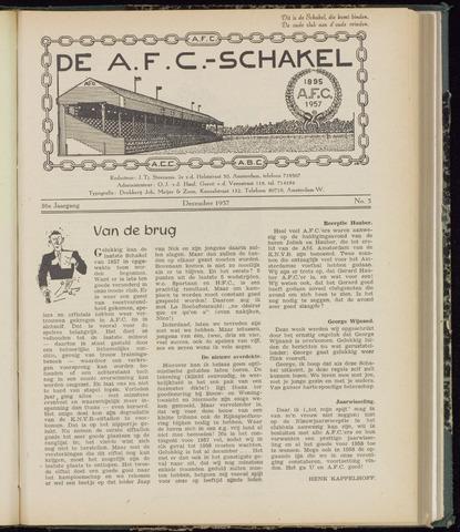 Schakels (clubbladen) 1957-12-01
