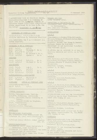Bulletins (vnl. opstellingen) 1952-02-05