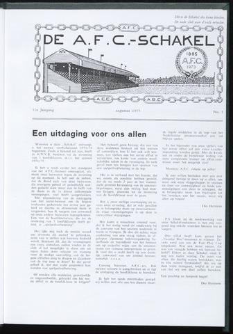 Schakels (clubbladen) 1973-08-01