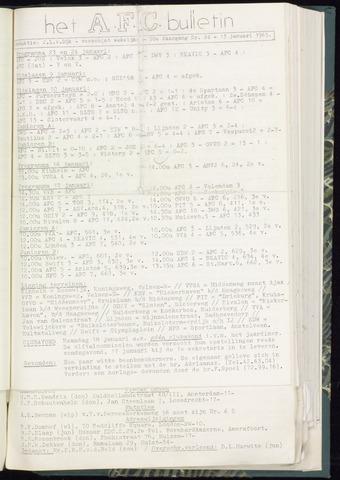 Bulletins (vnl. opstellingen) 1965-01-13