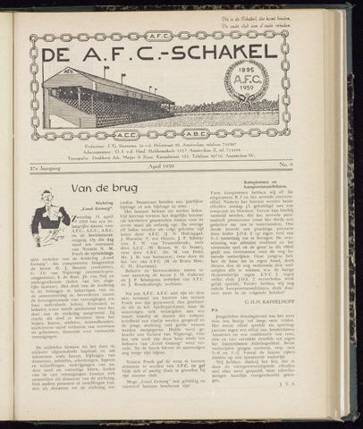 Schakels (clubbladen) 1959-04-01
