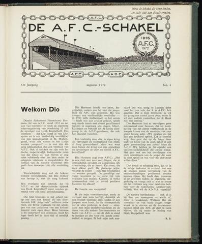 Schakels (clubbladen) 1972-08-01
