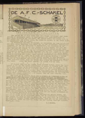 Schakels (clubbladen) 1945