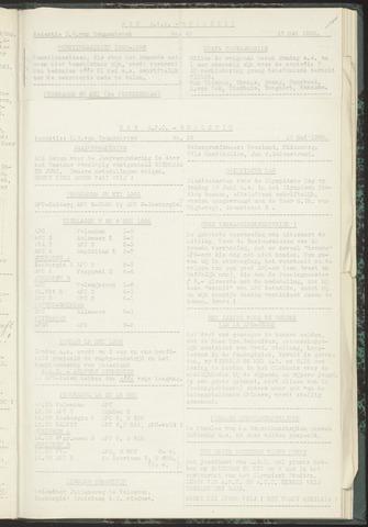 Bulletins (vnl. opstellingen) 1955-05-10